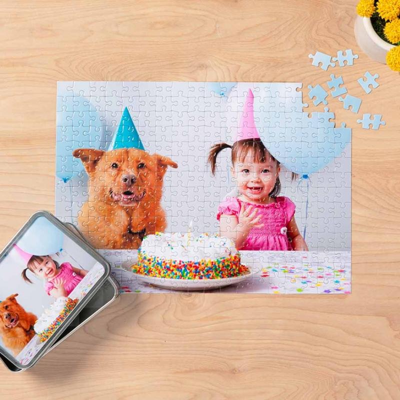 ihocon: 10x14 Custom Photo Puzzle (252 pieces)