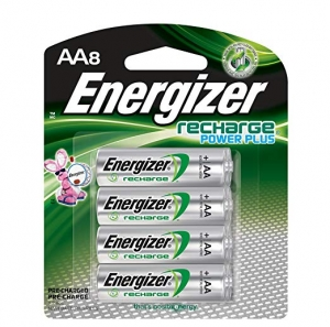 ihocon: Energizer Rechargeable AA Batteries, NiMH, 2300 mAh, Pre-Charged, 8 count 充電電池(可重覆使用)