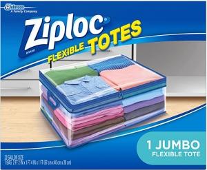 Ziploc 衣物收納袋 $8.07, 買3個再減$5!!