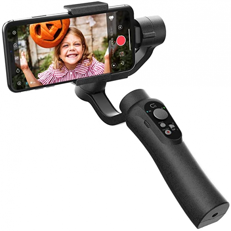 ihocon: CINEPEER 3-Axis Gimbal Stabilizer 手機三軸穩定器 (錄影防抖動)