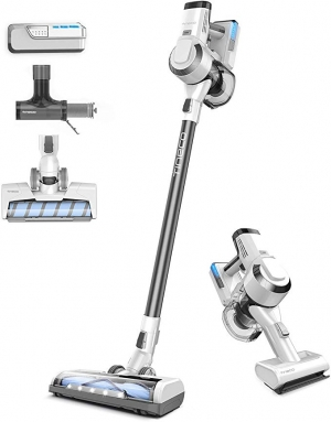 ihocon: Tineco A10 Master Cordless Stick Vacuum Cleaner with 2 Lithium Batteries and 2 LED Brushes無線手持吸塵器, 含2個充電電池