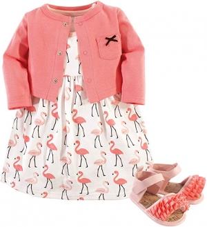 Hudson 100% 純棉 兒童洋裝,外套及鞋子 $9.97(原價$15.99)