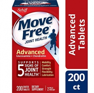ihocon: Glucosamine & Chondroitin Advanced Joint Health Supplement Tablets, Move Free (200 count in a bottle)