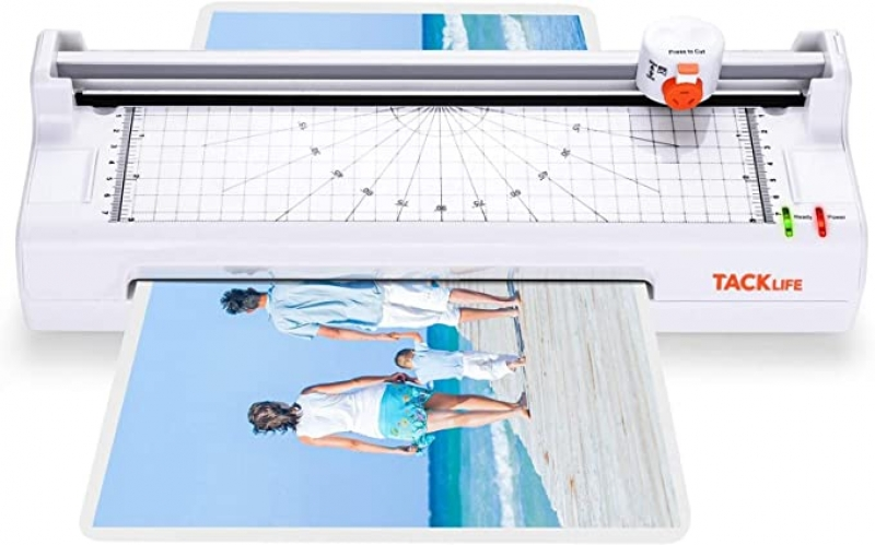 ihocon: Tacklife MTL02 9.05 Wide 4-in-1 Thermal Laminator Hot & Cold Laminating Machine 四合一冷/熱護貝機/覆膜機