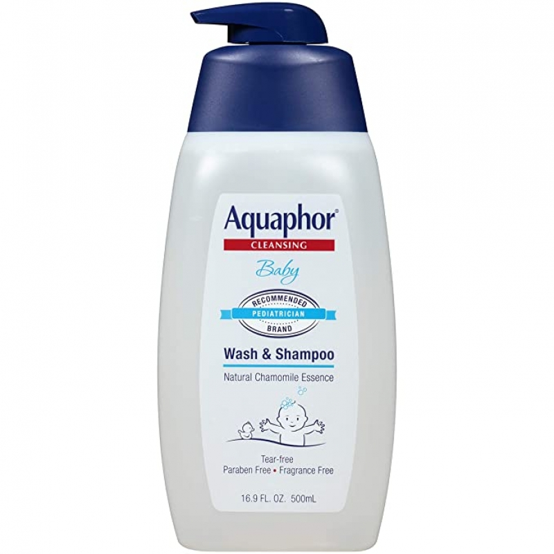 ihocon: Aquaphor Baby Wash and Shampoo, 25.4 fl. oz. 嬰兒沐浴/洗髮乳
