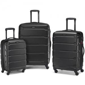 ihocon: Samsonite Omni Hardside 3 Piece Nested Spinner Luggage Set (20, 24, & 28 Inch) 硬殼行李箱