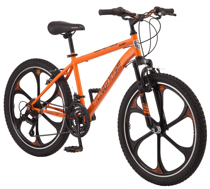 ihocon: Mongoose Alert Mag Wheel mountain bike, 24-inch wheels, 7 speeds 越野自行車
