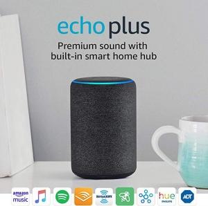 ihocon: Echo Plus (2nd Gen) - Premium sound with built-in smart home hub - Charcoal