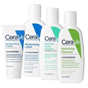 CeraVe 旅行組(保濕霜,乳液,泡沫洗面乳及保濕潔面乳) $17.96(原價$19.96)
