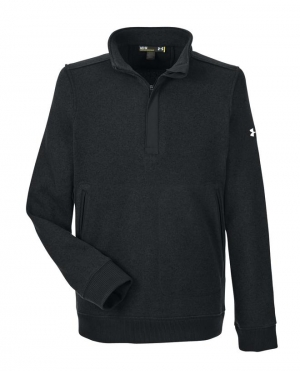 ihocon: Under Armour Men's Elevate Quarter Zip Sweater  男士長袖衫