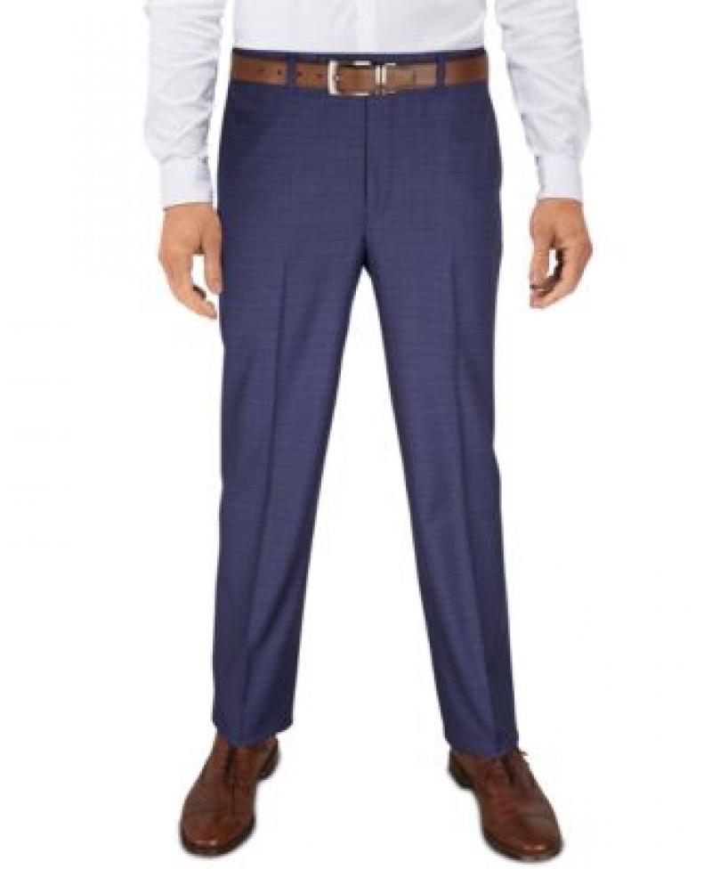 ihocon: Lauren Ralph Lauren Men's Pattern Classic-Fit Ultraflex Stretch Machine Washable Dress Pants 男士長褲