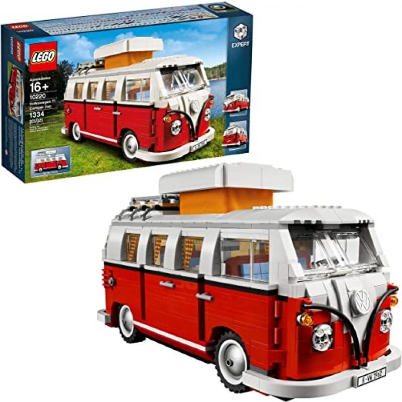 ihocon: 樂高積木LEGO Creator Expert Volkswagen T1 Camper Van 10220 Construction Set (1334 Pieces)