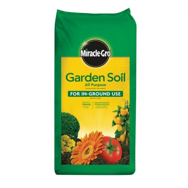 ihocon: Miracle-Gro 1.5 cu. ft. All Purpose Garden Soil 花園種植土