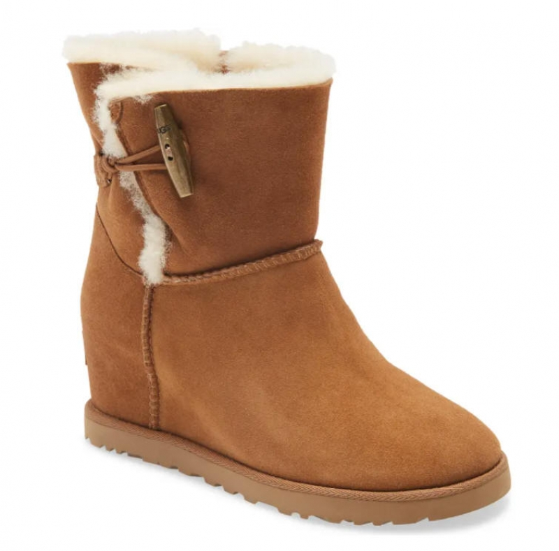 ihocon: UGG® Classic Femme Toggle Wedge Boot 女靴