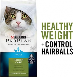 ihocon: Purina Pro Plan Indoor Care Adult Dry Cat Food & Wet Cat Food 乾貓糧 7 lb.