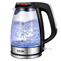 ihocon: Aicok Electric Glass Tea Kettle, 1.7L 玻璃電熱水瓶