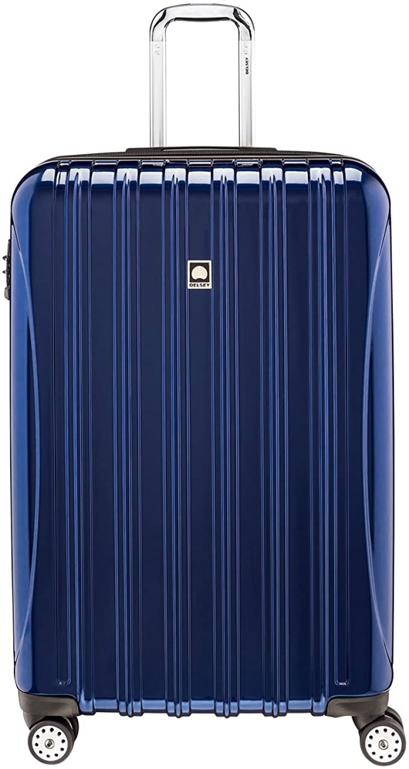 ihocon: DELSEY Paris Helium Aero Hardside Expandable Luggage with Spinner Wheels, 29吋硬殼行李箱