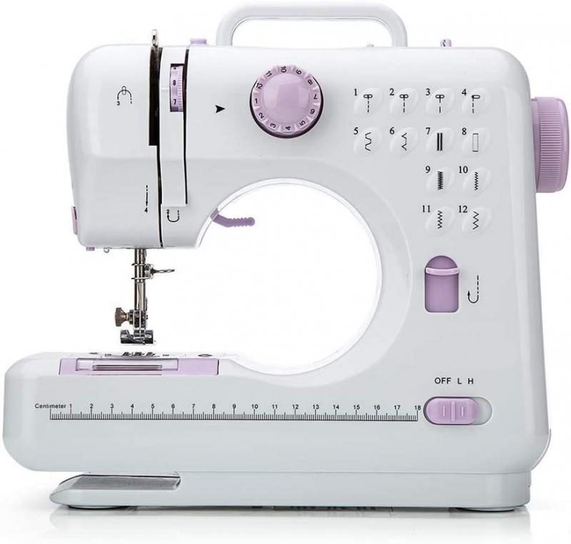 ihocon: SKONYON 12 Stitches Sewing Machine 迷你便攜縫紉機