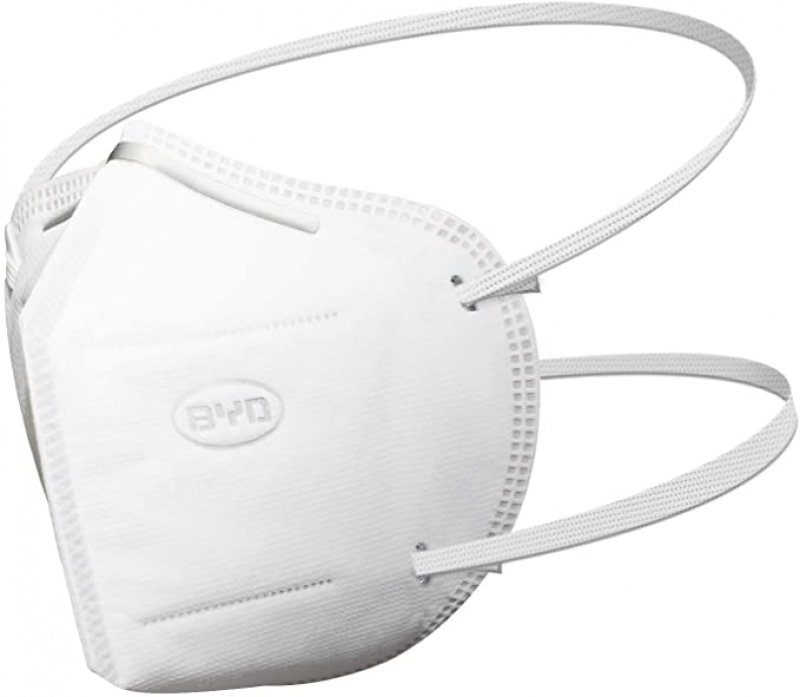ihocon: BYD 比亞迪 Disposable Protective Respirator with Head Straps, Box of 20 pcs 一次性口罩
