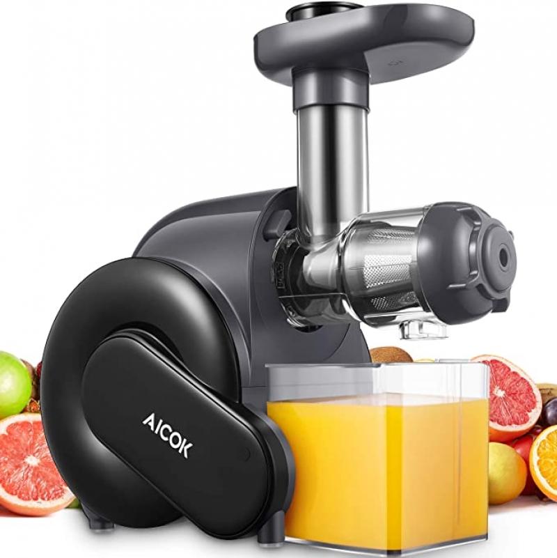 ihocon: Aicok Slow Masticating Juicer with Quiet Motor慢磨榨汁機