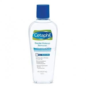 ihocon: Cetaphil Gentle Waterproof Makeup Remover, 6.0 Fluid Ounce防水化妝品專用卸妝液