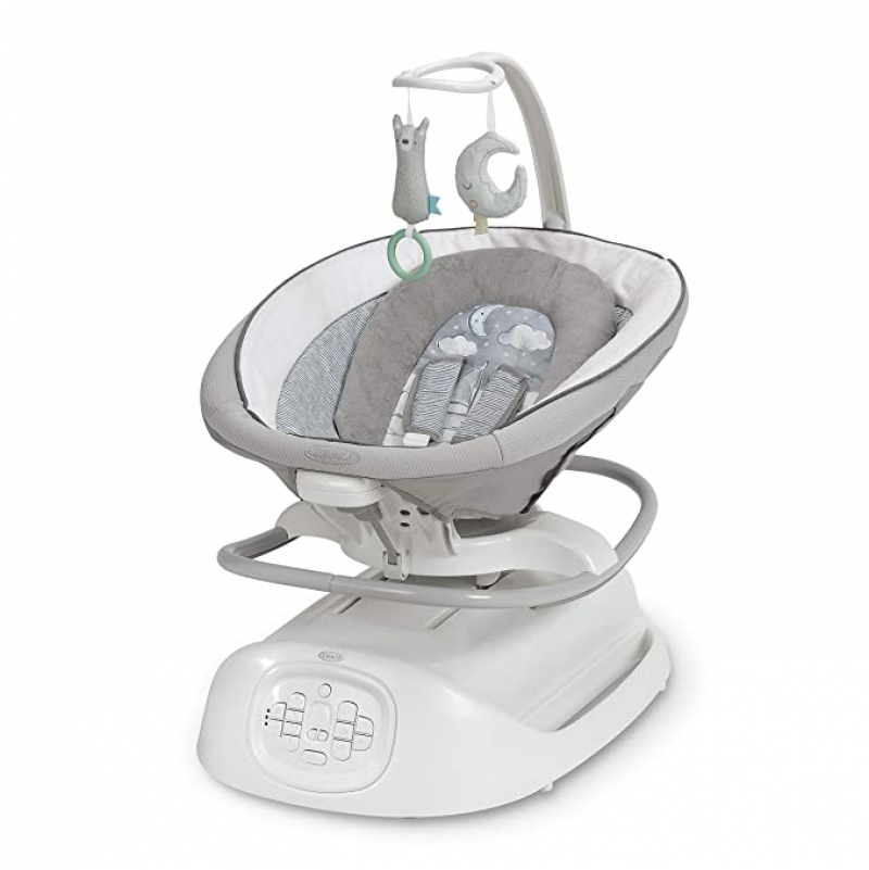 ihocon: Graco Sense2Soothe Baby Swing with Cry Detection Technology 嬰兒搖籃
