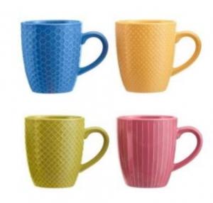 ihocon: StyleWell StyleWell 13.5 fl. oz. Mug Set 馬克杯4個