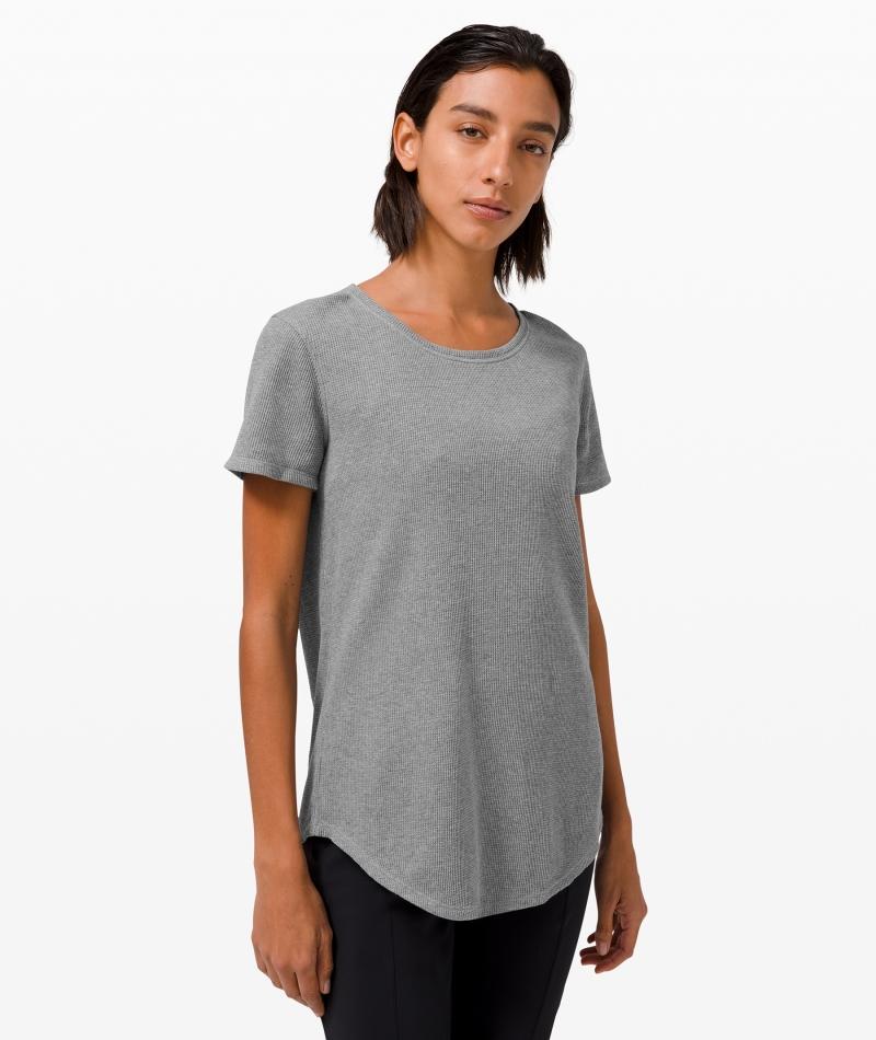 ihocon: Lululemon Love Crew Short Sleeve T-Shirt Waffle   短袖  卹華夫格