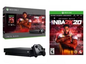 ihocon: Xbox One X 1TB NBA 2K20 Gaming Console Bundle