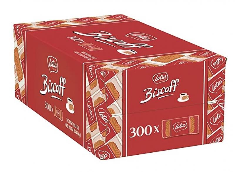 ihocon: Lotus Biscoff - European Biscuit Cookies - 0.2 Ounce (300 Count)