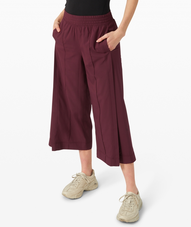 ihocon: lululemon Wanderer Culotte 女士裙褲