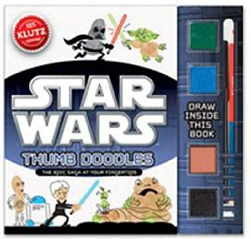 ihocon: Klutz Star Wars Thumb Doodles Book Kit