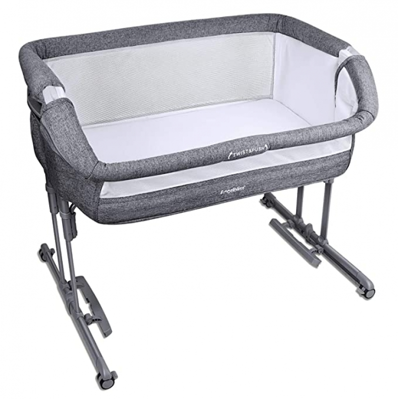 ihocon: Angelbliss 3-in-1 Baby Bassinet & Bedside Sleeper 嬰兒搖籃