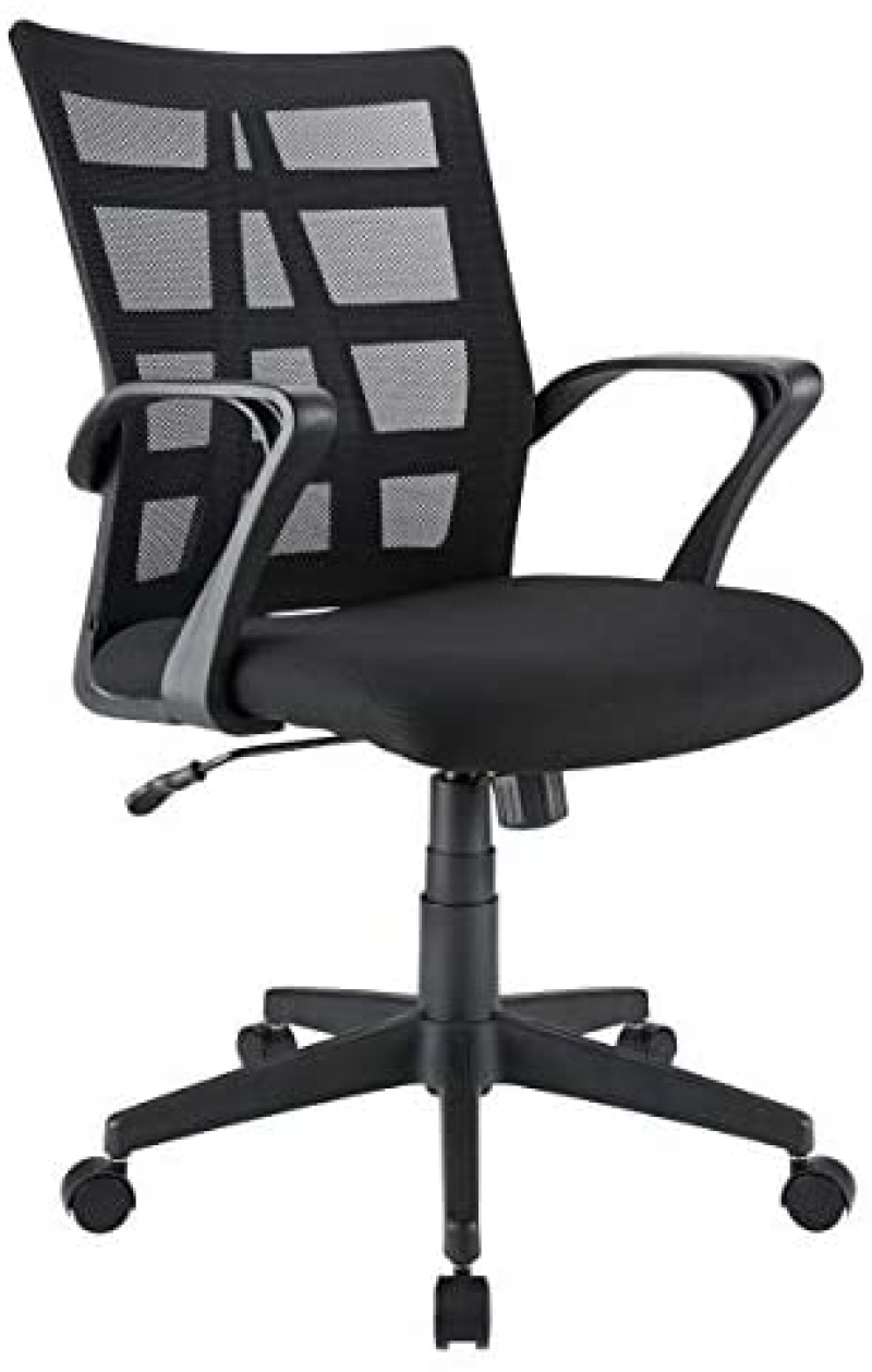 ihocon: Brenton Studio Jaxby Mesh/Fabric Mid-Back Task Chair 辦公椅