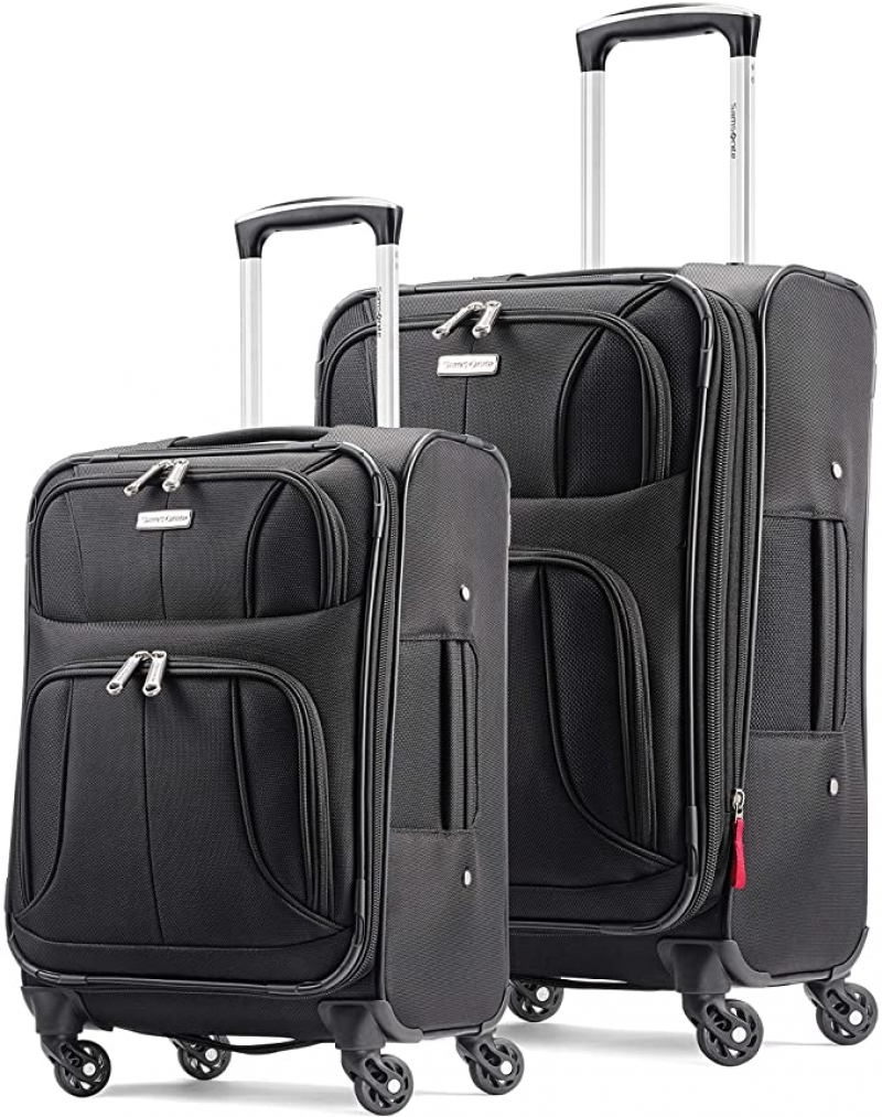 ihocon: Samsonite Aspire Xlite Softside Expandable Luggage with Spinner Wheels, 2-Piece Set (20/25)   行李箱