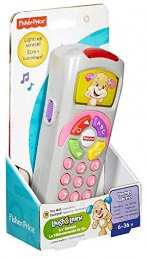 ihocon: Fisher-Price Laugh & Learn Sis' Remote 玩具遙控器