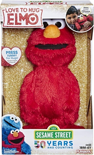 ihocon: Sesame Street Love to Hug Elmo Talking, Singing, Hugging 14 Plush Toy