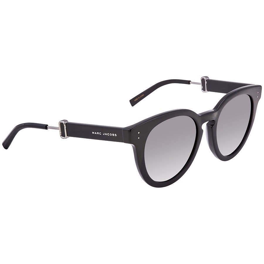 ihocon: [男, 女均適用] Marc Jacobs Marc Jacobs Dark Grey Gradient Round Unisex Sunglasses太陽眼鏡