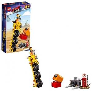 [2019新款] LEGO樂高積木The LEGO Movie 2 Emmet's Thricycle! 70823 (173 Pieces) $8.07(原價$14.99)