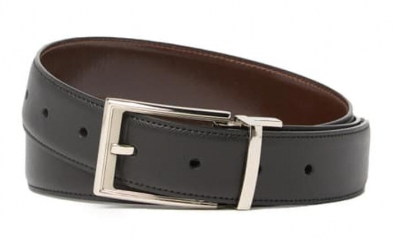 ihocon: Original Penguin New Saffiano Leather Reversible Belt 男士雙麵皮帶