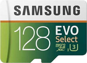 ihocon: Samsung 100MB/s (U3) MicroSD Evo Select Memory Card 128GB記憶卡