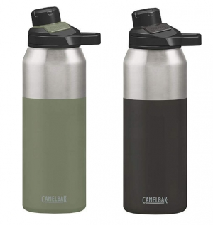 ihocon: CamelBak Insulated Stainless Steel Chute Mag Water Bottle, 32 Oz 保温水瓶