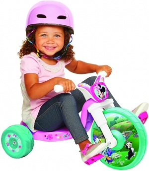ihocon: Minnie Mouse 10 Fly Wheels Junior Cruiser Ride-on, Ages 2-4 米妮三輪車