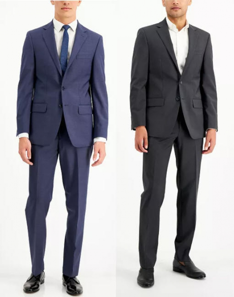 ihocon: Calvin Klein Men's 2 Piece Suits  男士西服一套-多色可選