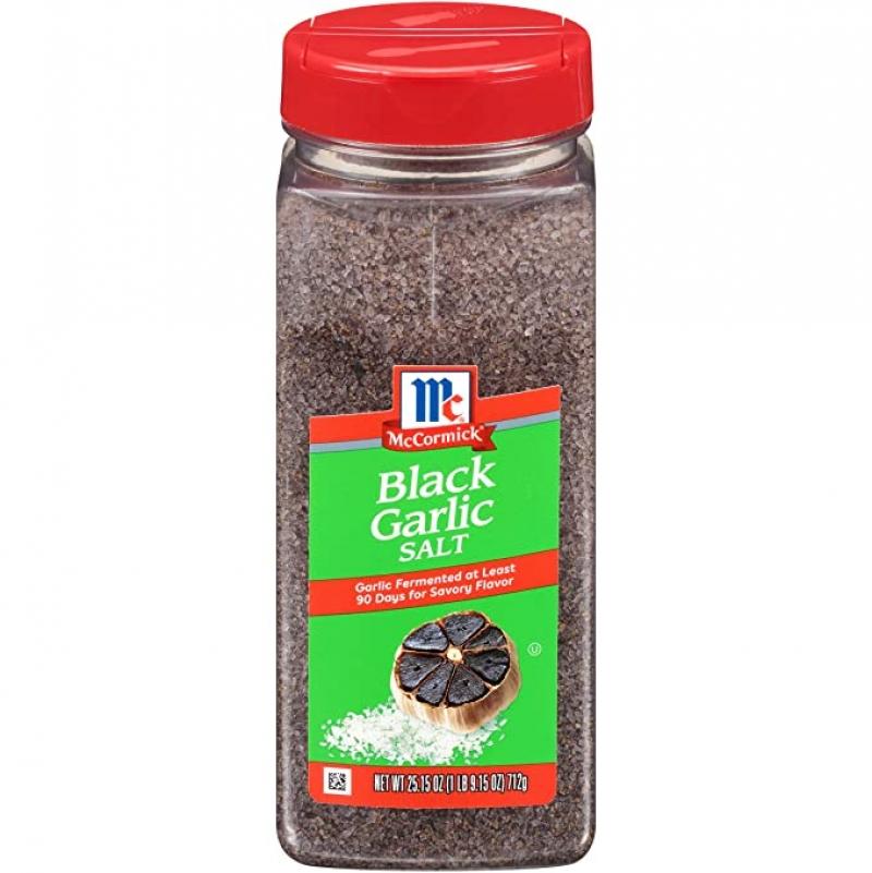 ihocon: McCormick Black Garlic Salt, 25.15 oz 黑蒜+鹽 調味粉