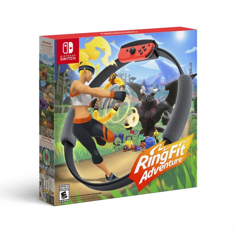 ihocon: Nintendo Switch遊戲 - Ring Fit Adventure