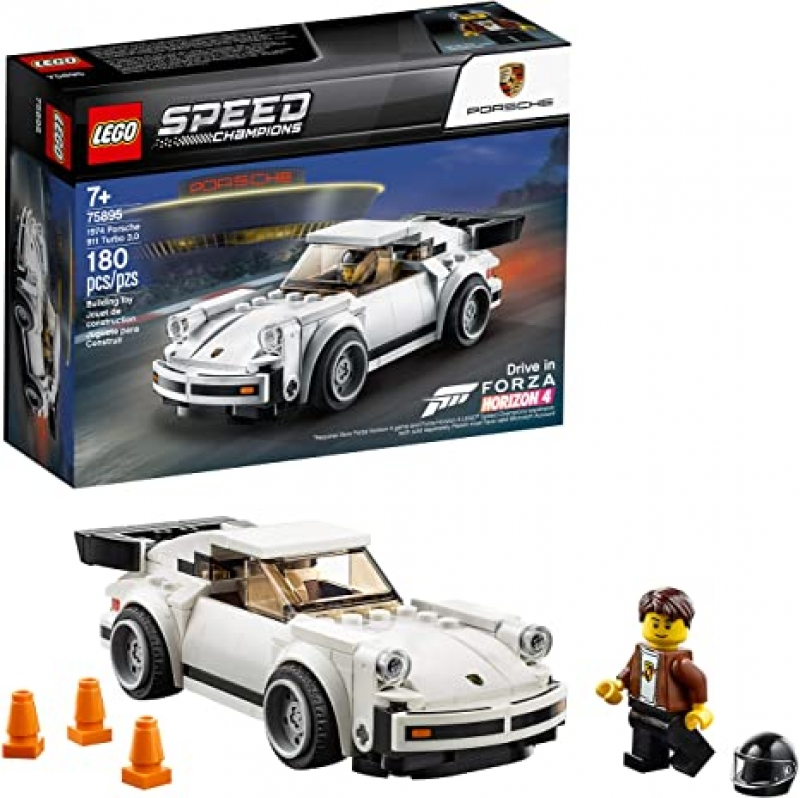 ihocon: LEGO Speed Champions 1974 Porsche 911 Turbo 3.0 75895 Building Kit (180 Pieces) 樂高保時捷跑車
