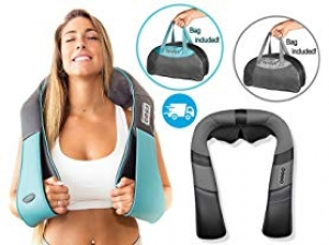 ihocon: InvoSpa Shiatsu Neck and Shoulder Massager 加熱指壓肩頸部按摩器 - 2色可選