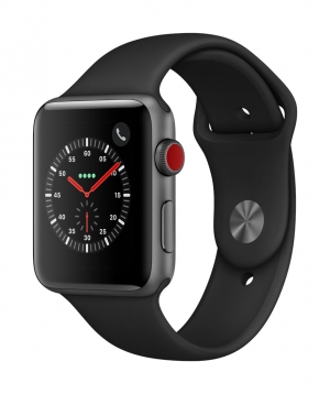 ihocon: Apple Watch Series 3 GPS + Cellular - 42mm - Sport Band - Aluminum Case