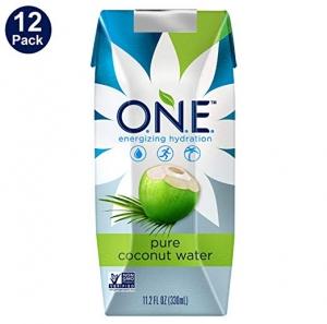 O.N.E. 純椰子水 12瓶 $13.94(原價$17.43)
